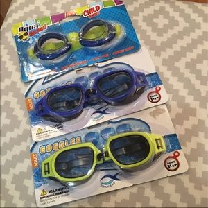 Swimming Goggles Set of 3